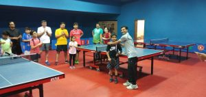 Table Tennis - Parent Child Night at ARA